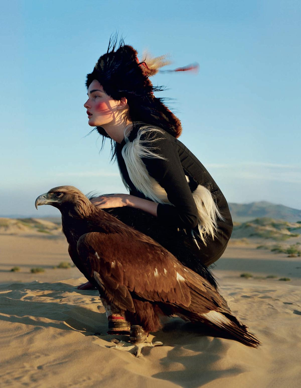 Eagle Woman | The Aeon Eye