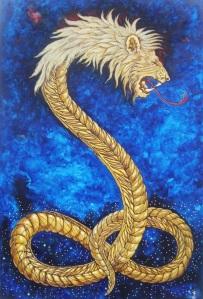 Lion-Headed Serpent