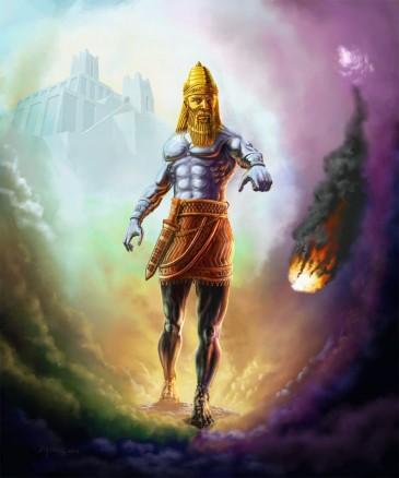 Statue-of-Nebuchadnezzar-Daniel-Chapter-2-Iron-and-Clay-Hyrbid-Nephilim-Kingdom