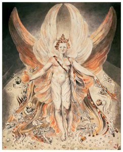 Satan In His Original Glory - William Blake (1805)