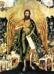 St John the Baptist, the Angel