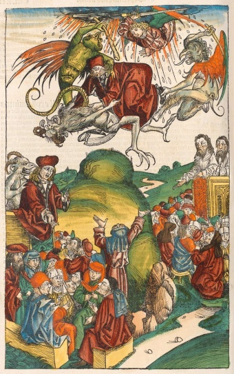 Death of SImon Magus
