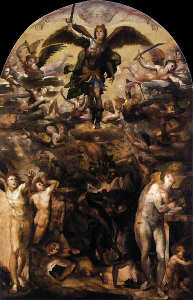Beccafumi_-_Fall_of_the_Rebel_Angels_-_Web_Gallery_of_Art