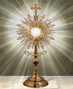 A Eucharistic Solar Symbol.