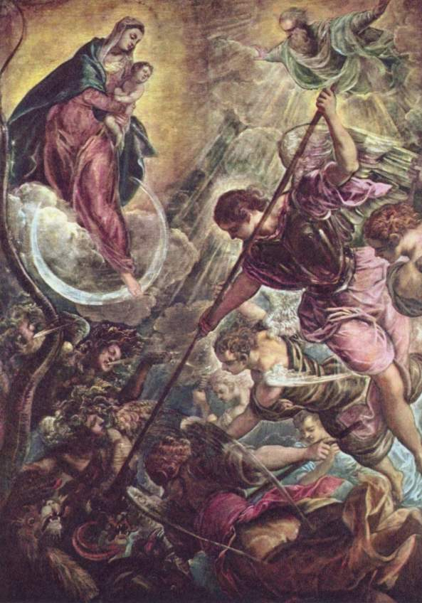 battle-of-the-archangel-michael-and-the-satan