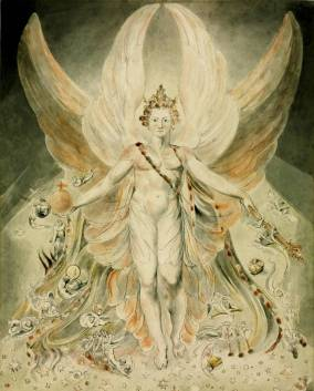 Satan in his Original Glory: 'Thou wast Perfect till Iniquity was Found in Thee' circa 1805 William Blake 1757-1827 Presented by the executors of W. Graham Robertson through the Art Fund 1949 http://www.tate.org.uk/art/work/N05892